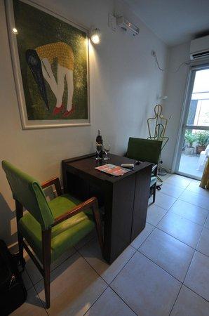 Modigliani Art & Design Suites Mendoza : Dining