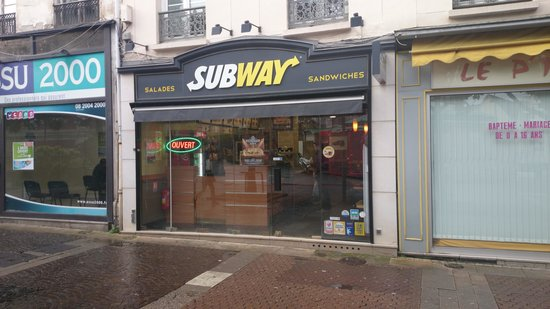 Subway Rouen Saint Sever