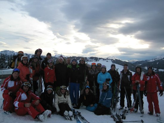 Hotel Les Airelles: Quod ski trip