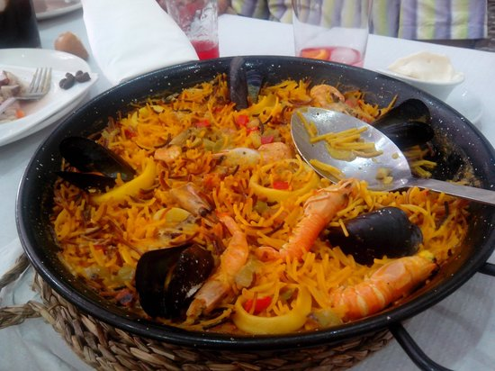 Restaurante Camino De Santiago: Fideua