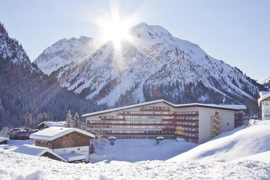 Das Aparthotel Kleinwalsertal im Winter