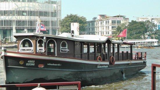 Royal Orchid Sheraton Hotel & Towers: Navette fluviale gratuite (Sheraton)