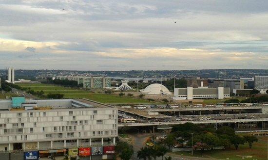 Manhattan Plaza: Vista do Planalto. 10º Andar