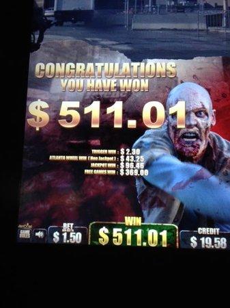Grand Pequot Tower: Winnings from Grand Pequot Casino
