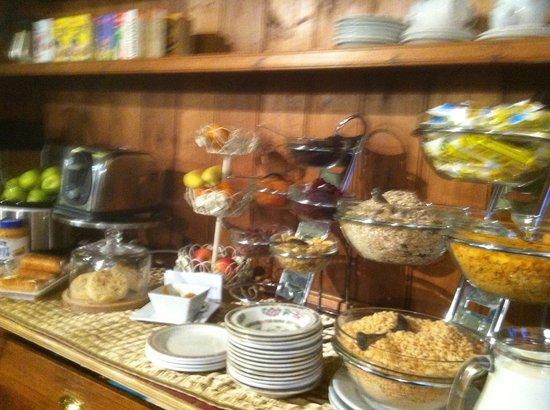 Minster Walk Accommodation: Breakfast selection