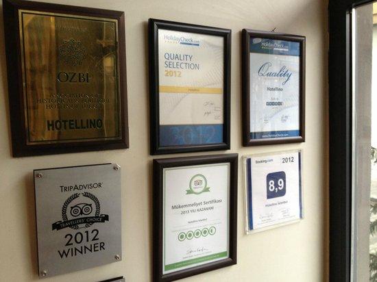 Hotellino Istanbul: Vencedor de vários prêmios, inclusive TripAdvisor
