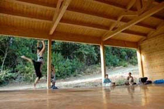 Podere Campopiano: sala multiattività