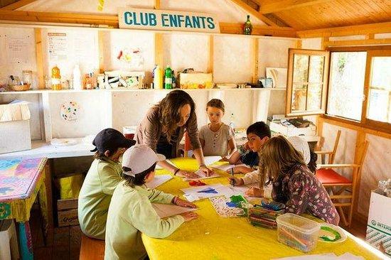 Camping de la Plage Bénodet : club enfants