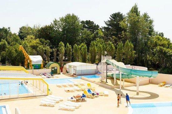 Camping de la Plage Bénodet : parc aquatique