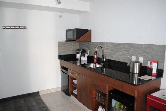 Hotel Elan : Kitchenette