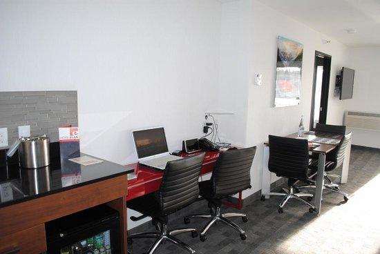 Hotel Elan : Workspace