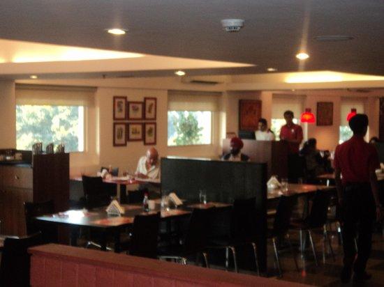 Red Fox Hotel Jaipur: Really modern and upmarket restaurant