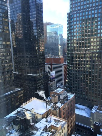 View From Room 3103 Picture Of Hilton Garden Inn New York Central Park South Midtown West New