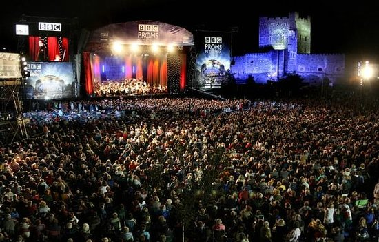 Loughside Bed and Breakfast: Proms.....at the Castle!
