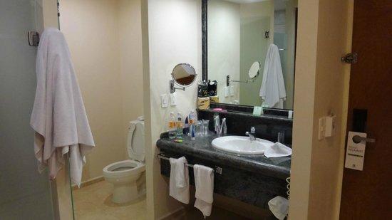 Holiday Inn Veracruz-Boca Del Rio: the bath