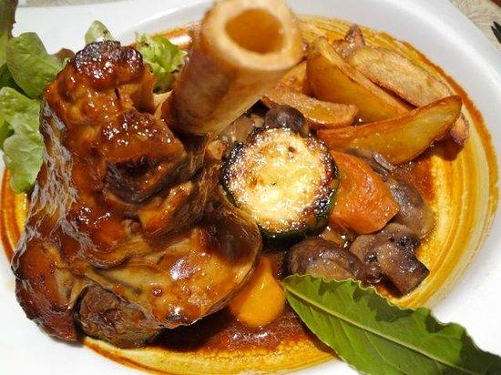 La Coulee Douce : Souris d'agneau confite (hors plat du jour)