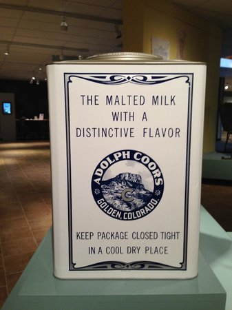 Golden History Center: some local produce museum exhibits