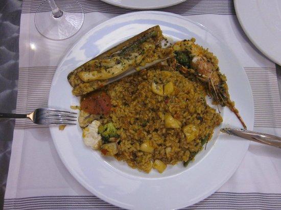 La Mar Salada : Paella Marinera
