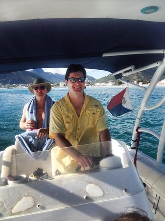 Robinson Speed Boat Tours: If you're lucky Capt. Mike will let you drive the boat!