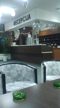 Hotel Jelak Lukovska Banja: Рецепция