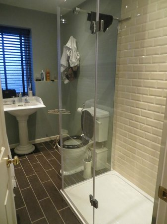 The Bridge House: Room 6 shower/bathroom