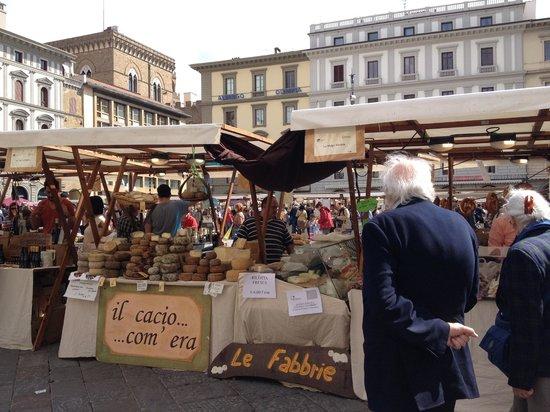 Piazza della Repubblica: Assorted Cheeses