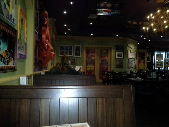 Tibby's New Orleans Kitchen: View from our table