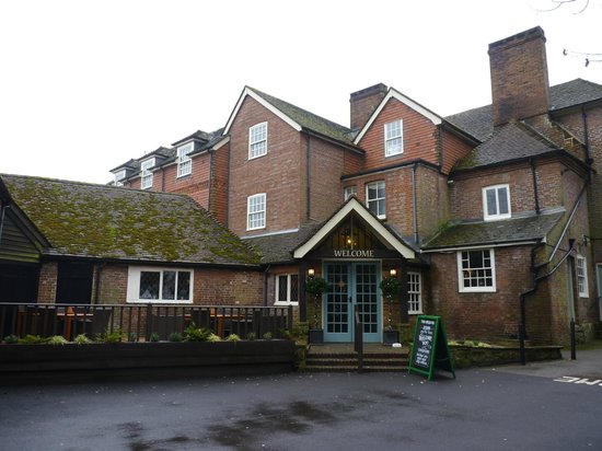 Chequers Inn: The Reception Entrance