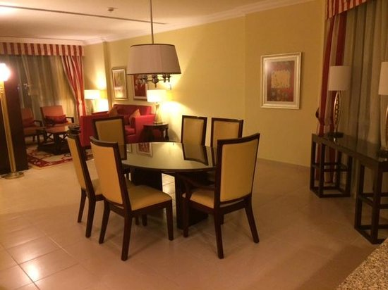 Room Dining Area Picture Of Marriott Executive Apartments Manama