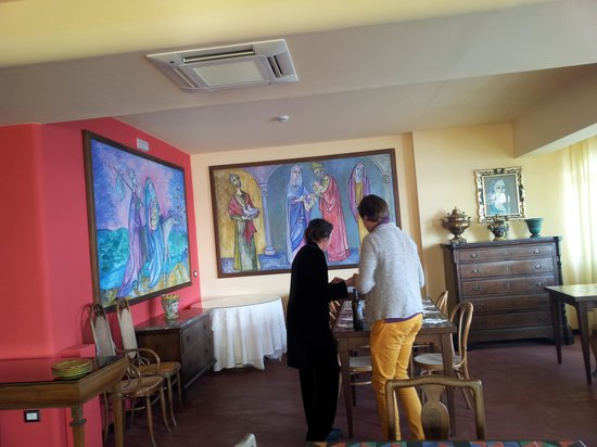 Hotel Palladio: совершенно необыкновенные завтраки