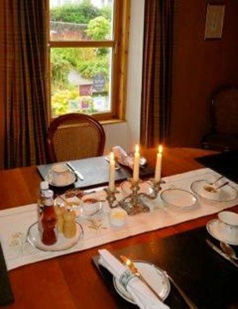 Wilmar Bed & Breakfast: elegant dining, even for breakfast