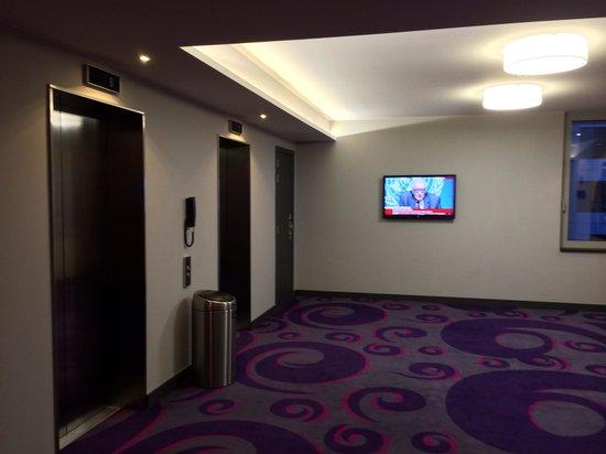 Thon Hotel EU: Corridoio