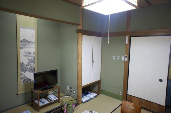 Sumiyoshiya: dettaglio della camera