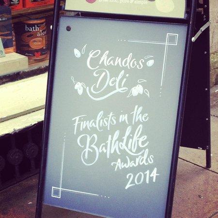 Chandos Deli: Finalists 2014 BathLife Best Cafe