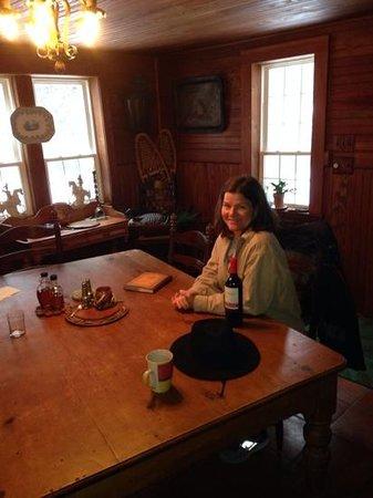 Stagecoach Inn: dining room