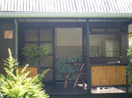 La Pension Manava : Terrasse