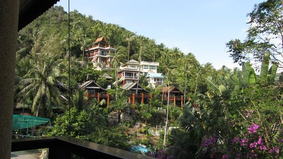 Sandalwood Luxury Villas: view from Restaurant