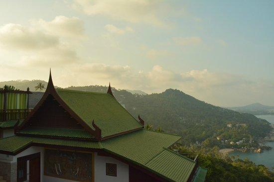 Sandalwood Luxury Villas : view from Malee room