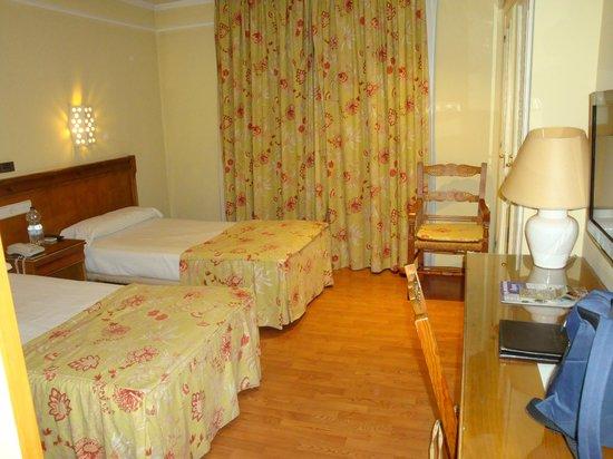 Hotel Dona Blanca: Habitación.