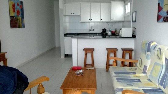 Apartamentos Jable Bermudas: living quarters