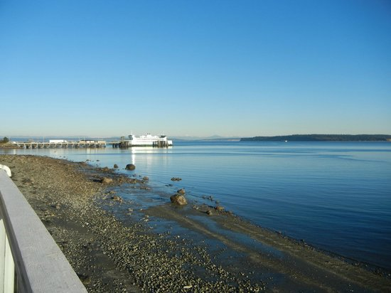 Tides Inn: Great location in Port Townsend