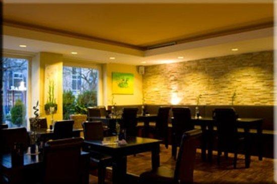Hotel Palazzio : Restaurant & Longe Bereich