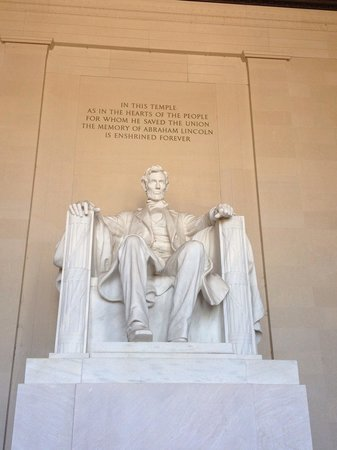 Lincoln Memorial et Reflecting Pool : Lincoln
