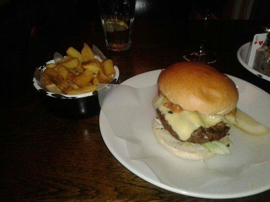 Byron Kensington: mushroom burger