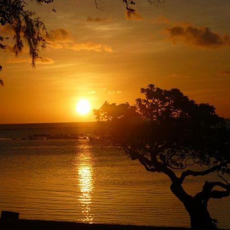Club Med La Pointe aux Canonniers : vue de notre terrasse