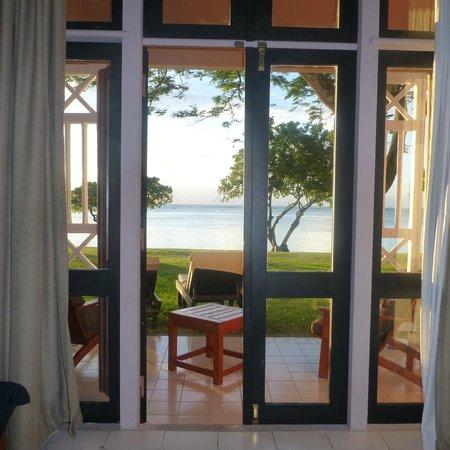 Club Med La Pointe aux Canonniers : vue de notre chambre..