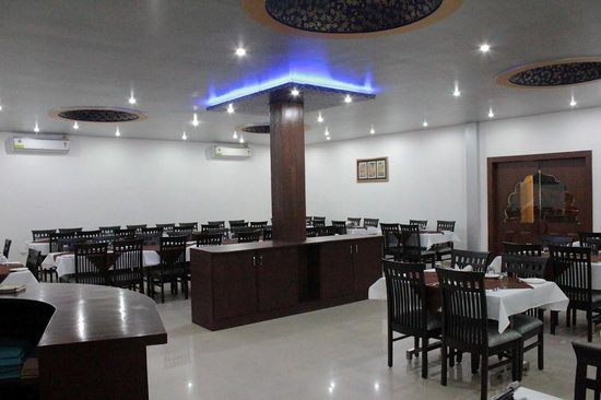 Taj Darbar the multicusine restaurant: inside