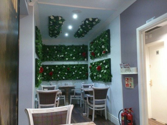 Upside down furniture picture of curious tea rooms for Garden rooms edinburgh