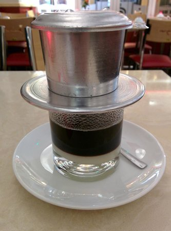 Eat Saigon: Hot coffee Vietnamese style