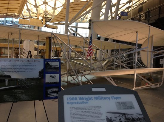 National Air and Space Museum : The wright brothers plane